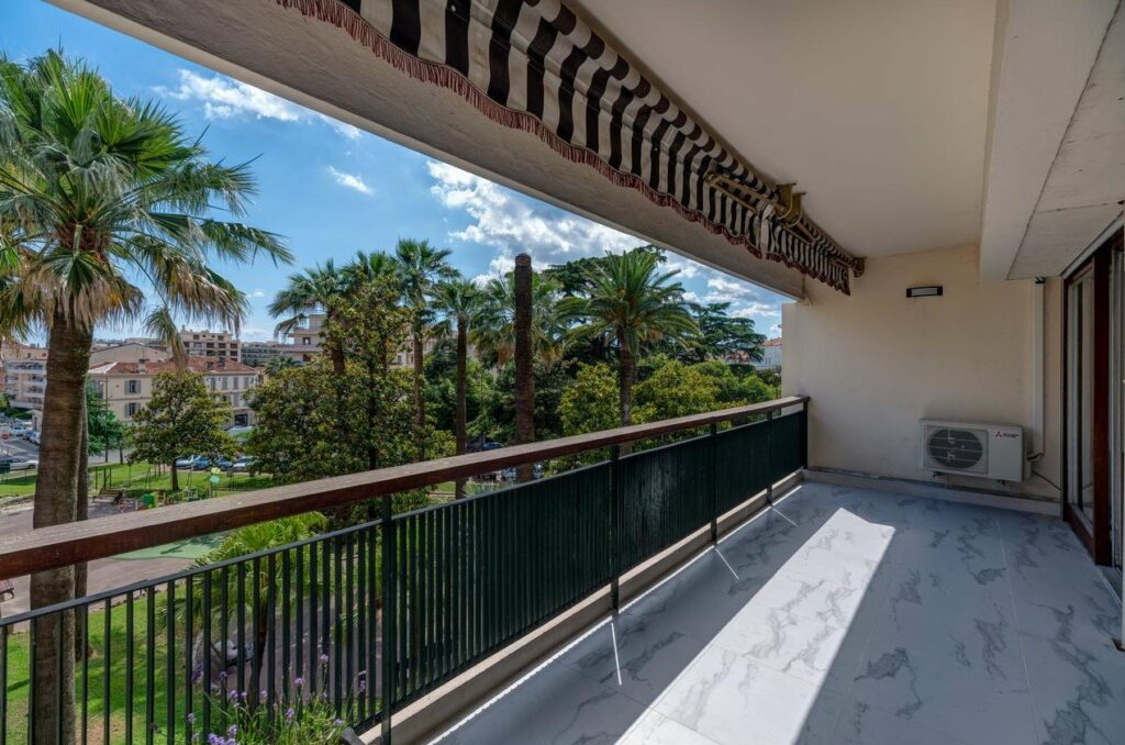balcony view of apartment for sale in cannes