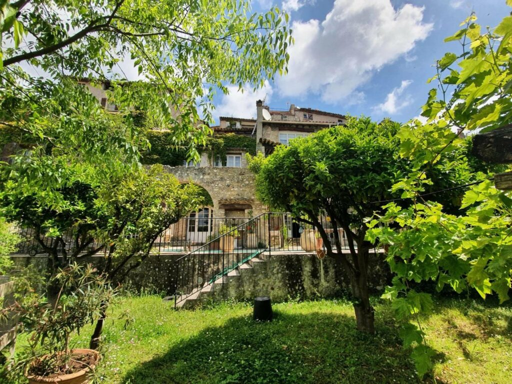 property stone villa in south france in south france with garden