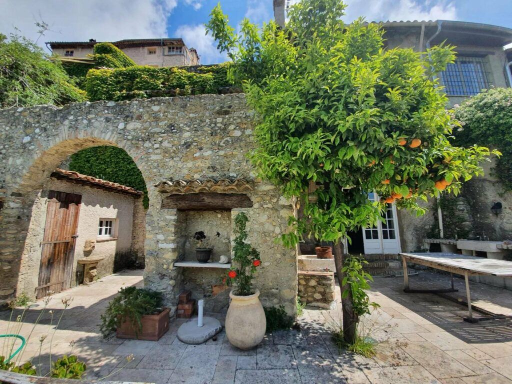 stone villa in south france with garden south france nice