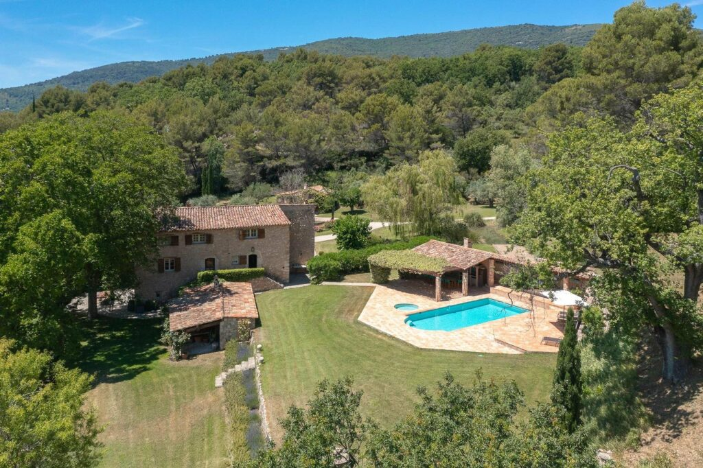 Authentic Provencal property in Seillans