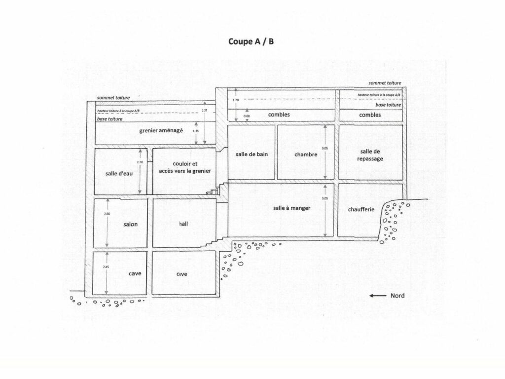 layout of south of france villas