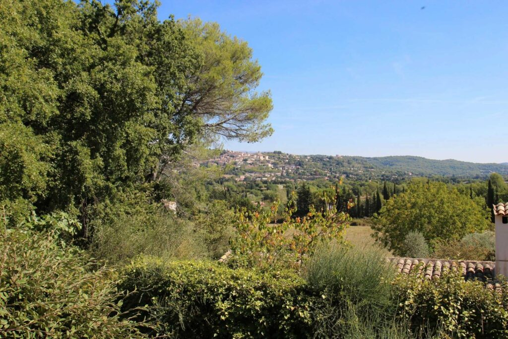 Old house with swimming pool and view - Fayence