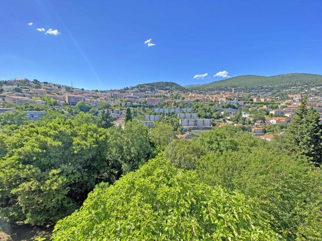view of mountains from property in grasse for sale