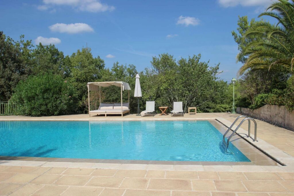 property in the south of france with private pool