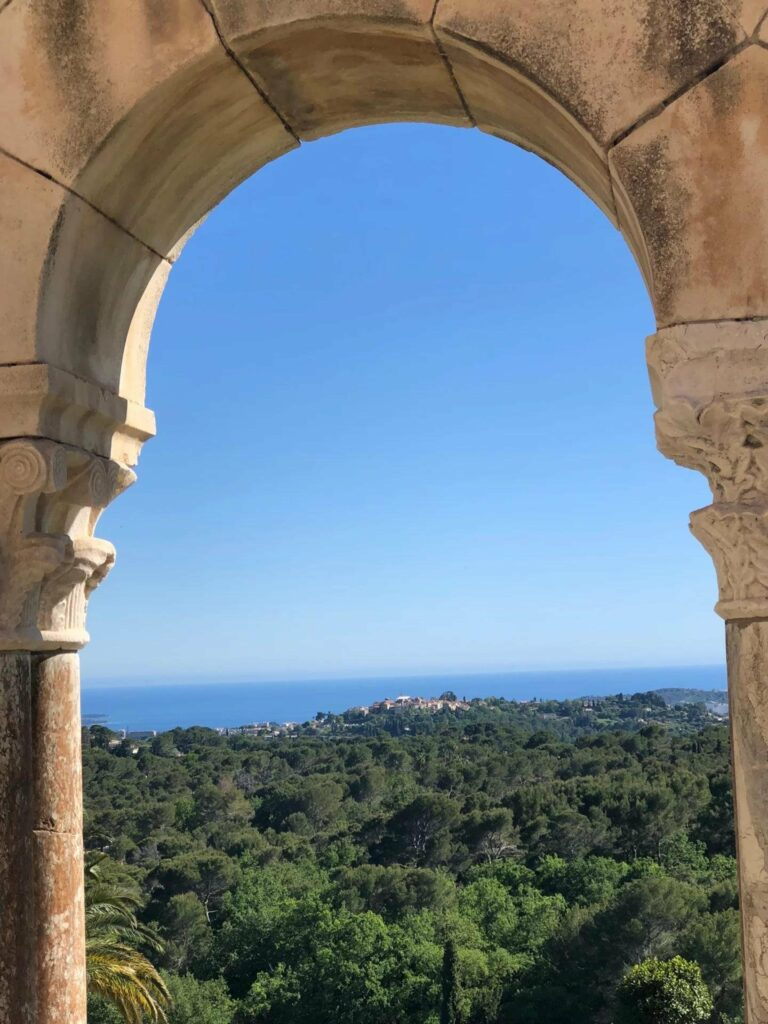 property in south france with sea view
