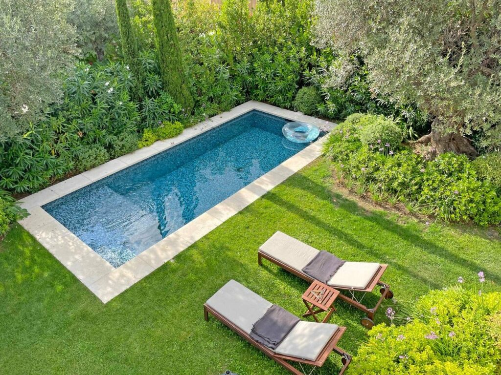 luxury villa in south france with private pool