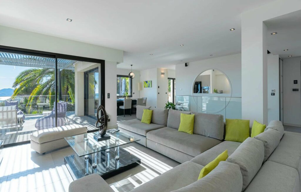 modern luxury villa for sale in cannes