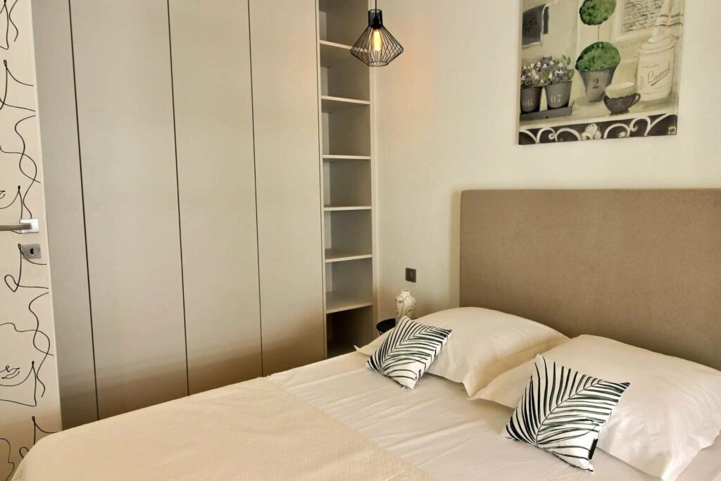 bedroom of apartment for sale in nice